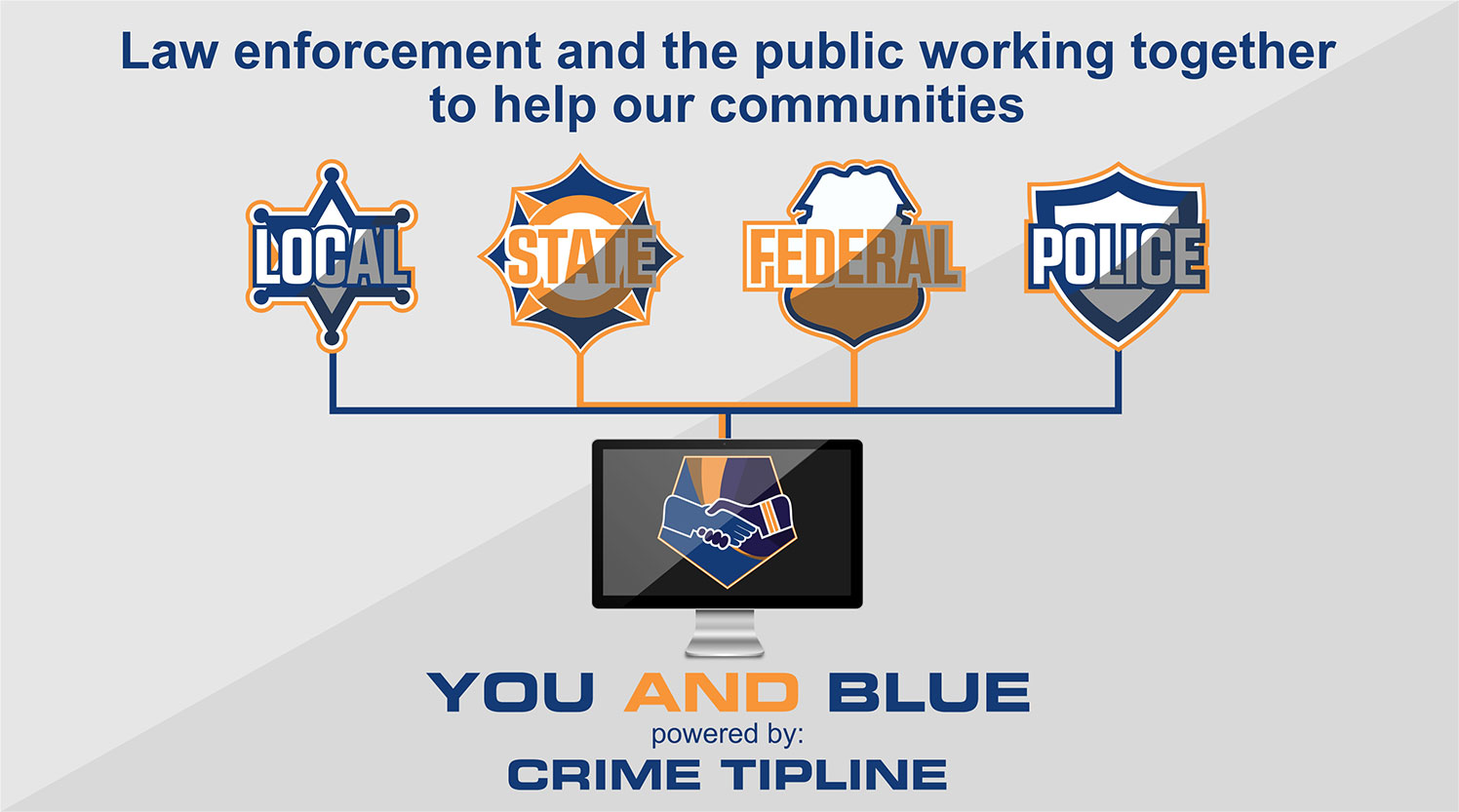 Law enforcement and the public working together to help our communities